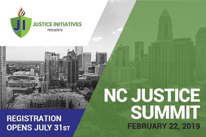 NC Justice Summit Registration – Justice Initiatives